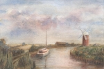 Horsey Mill ~ Norfolk Broads SOLD