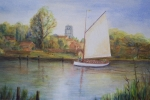 Olive passing by Beccles SOLD