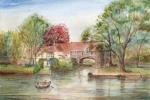 Pull's Ferry, Norwich, Fridge Magnet ASG5009