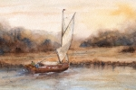 Autumn Sail, Norfolk Broads ASG5007