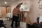 Hempnall Art Club Demonstration by Malcolm Cudmore