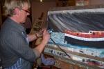 Hempnall Art Club Demonstration by Vaughn Limmer