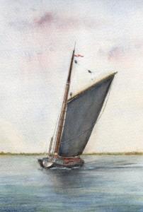 Albion on Breydon Water