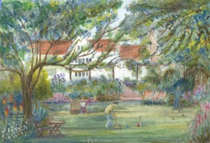 Croquet Match ~ Paycocke's House Coggeshall