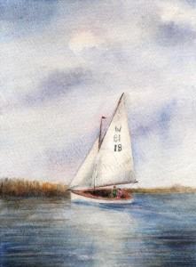 "Hunter's ""Sundew"" ~ Norfolk Broads"
